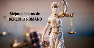 Mejores Libros de Derecho Romano