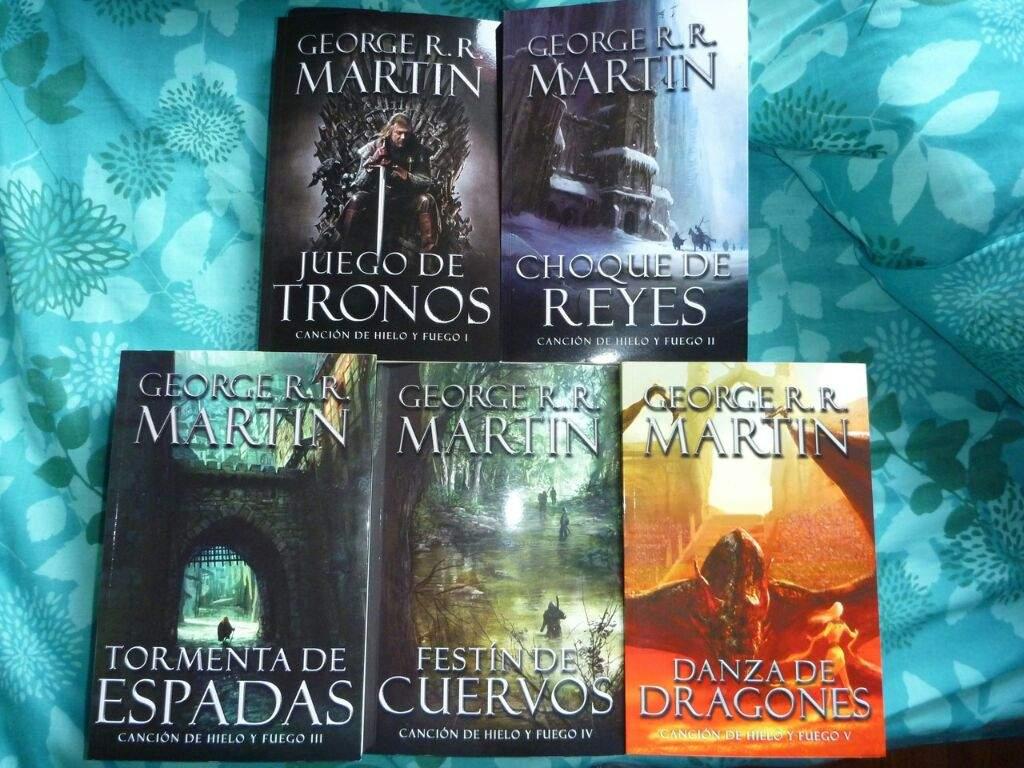 libros fantasia juego de tronos