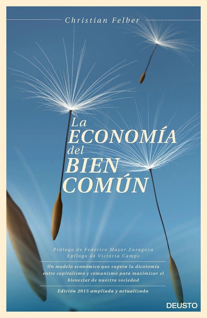 Portada de libro la economía del bien común de Christian Felber