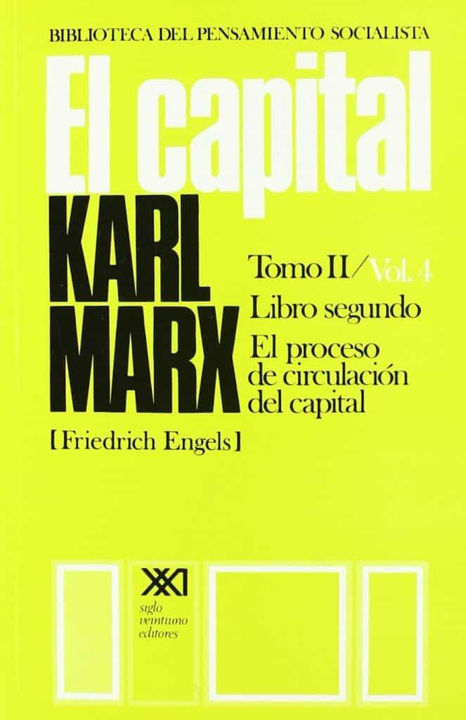 Libro de Karl Marx el capital