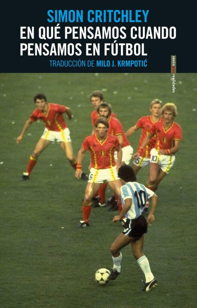 Libro de fútbol escrito por el filosofo inglés Simon Critchley