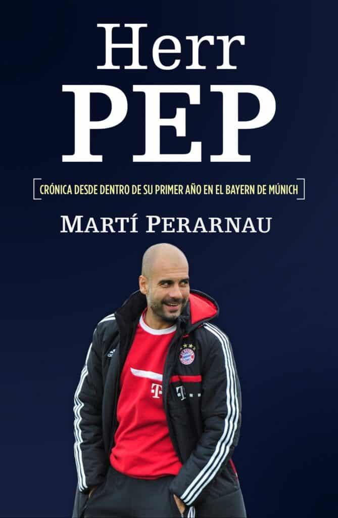 Libro herr pep sobre la trayectoria de Guardiola en su primer año en Alemania