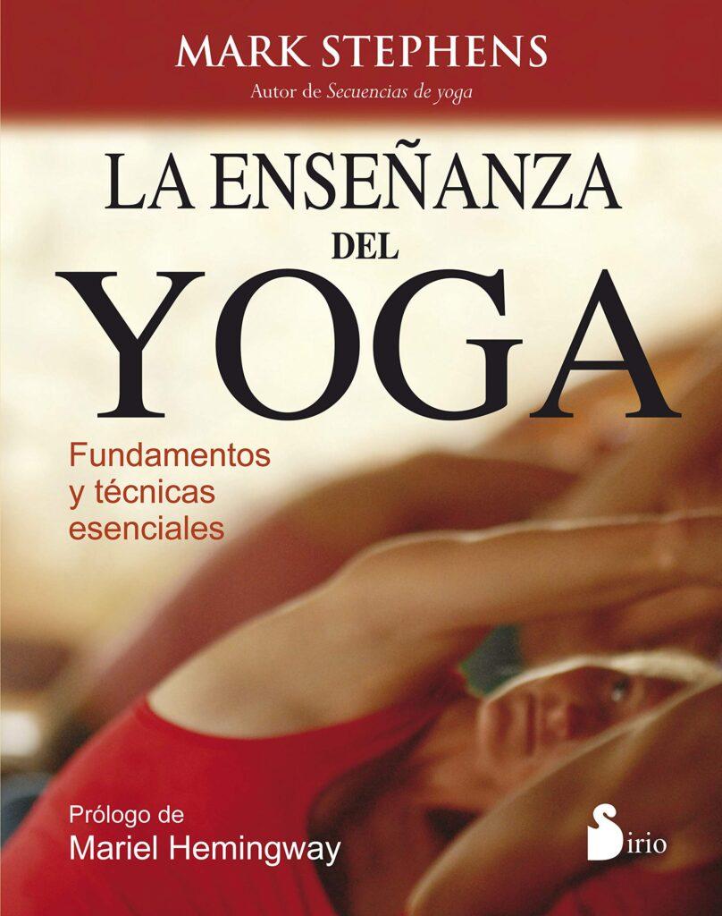 Libro la enseñanza del yoga de mark stephens