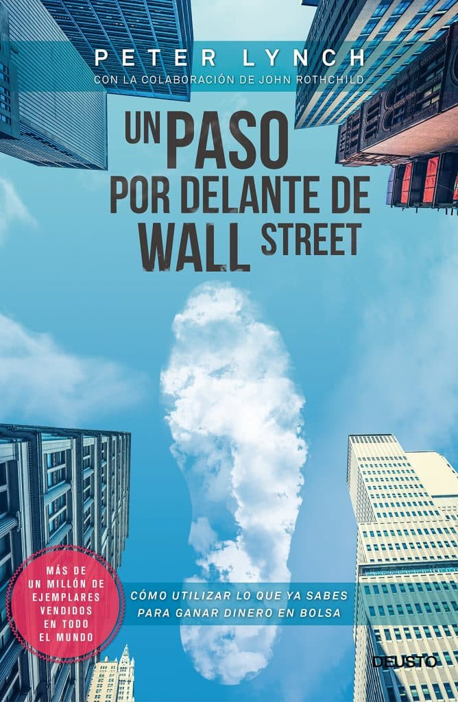 Portada de Un paso por delante de Wall Street de Peter Lynch