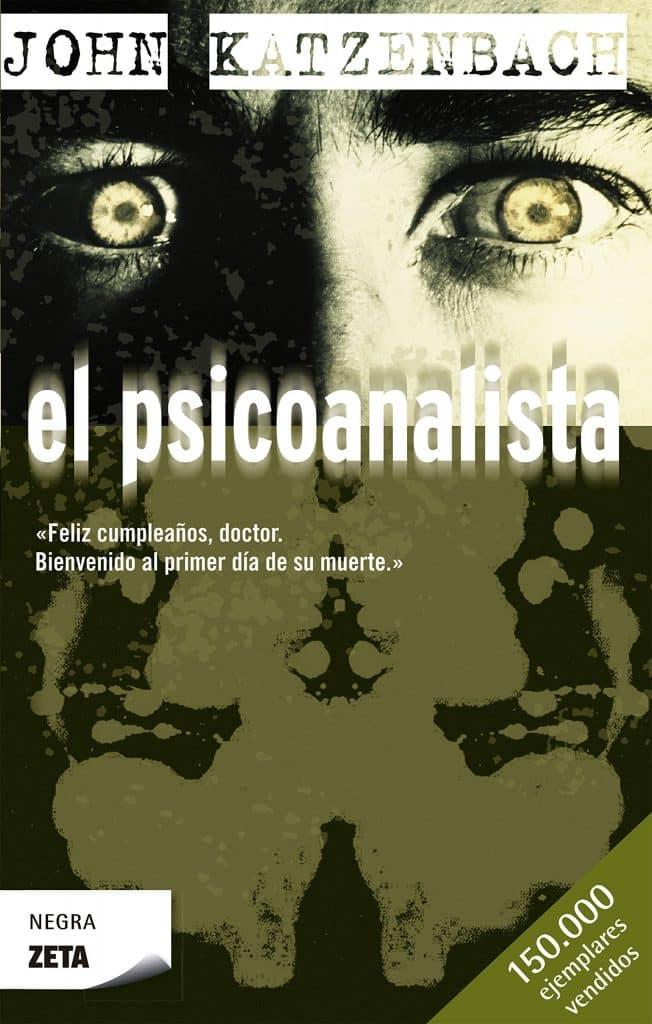 Portada del libro el psicoanalista de john Katzenbach