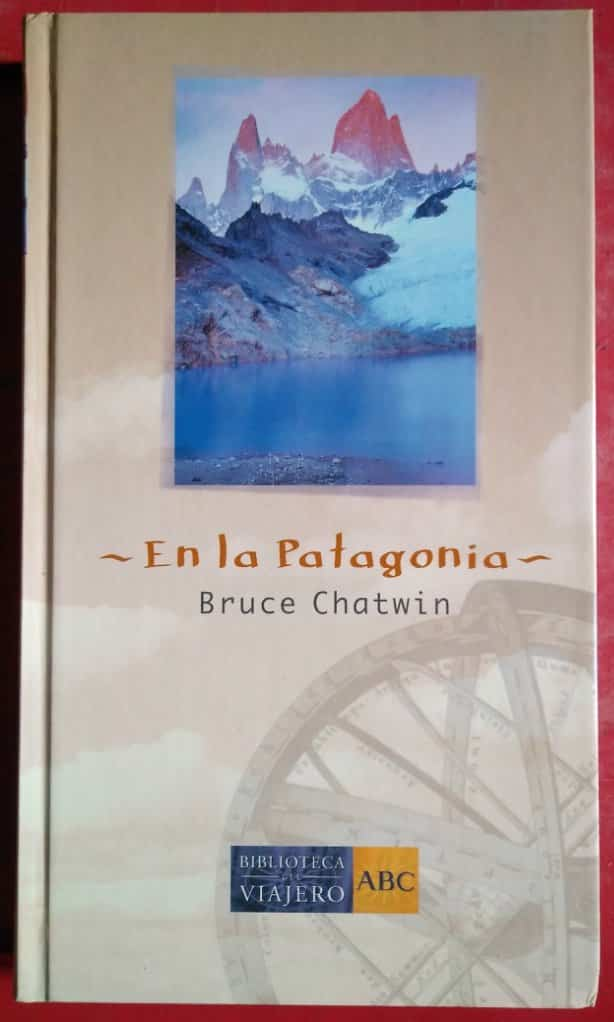 Portada de la obra en la patagonia donde se muestra una imagen de la tierra del fuego