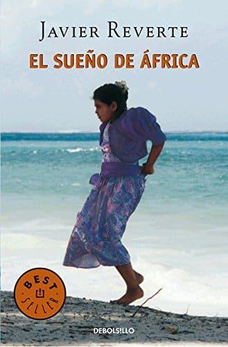 Portada del libro el sueño de áfrica que muestra a una mujer bailando en la playa