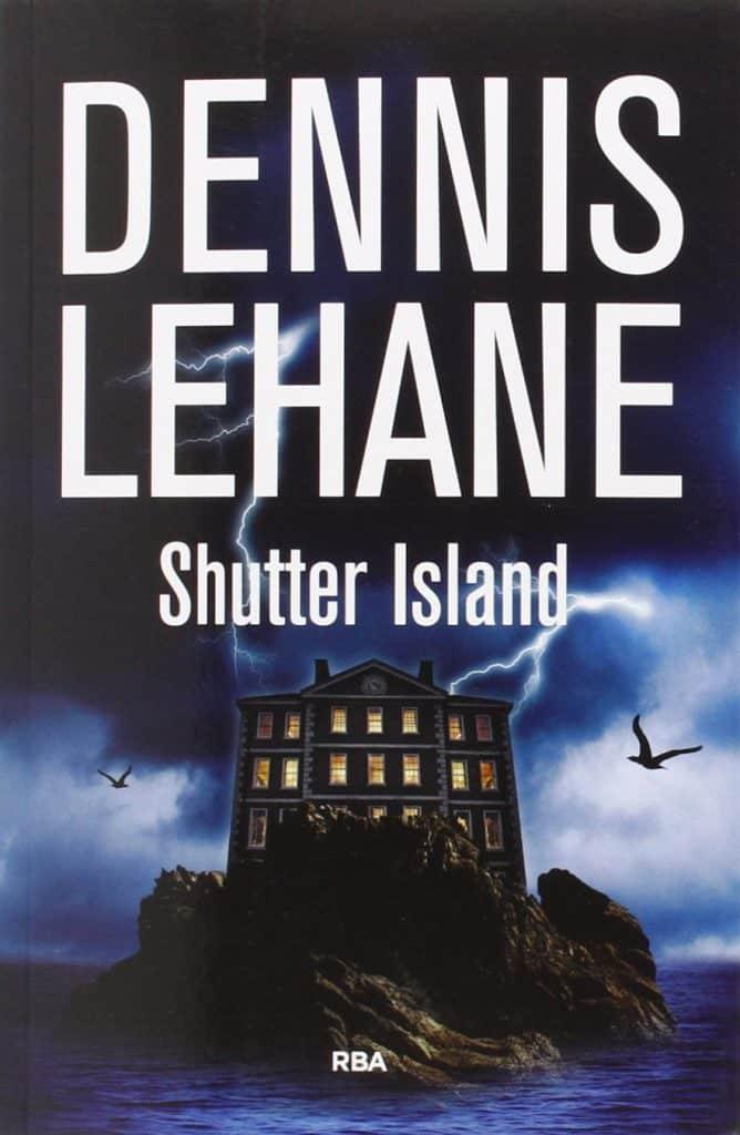 Portada de la novela shutter island de Dennis Lehane adaptada al cine en 2010