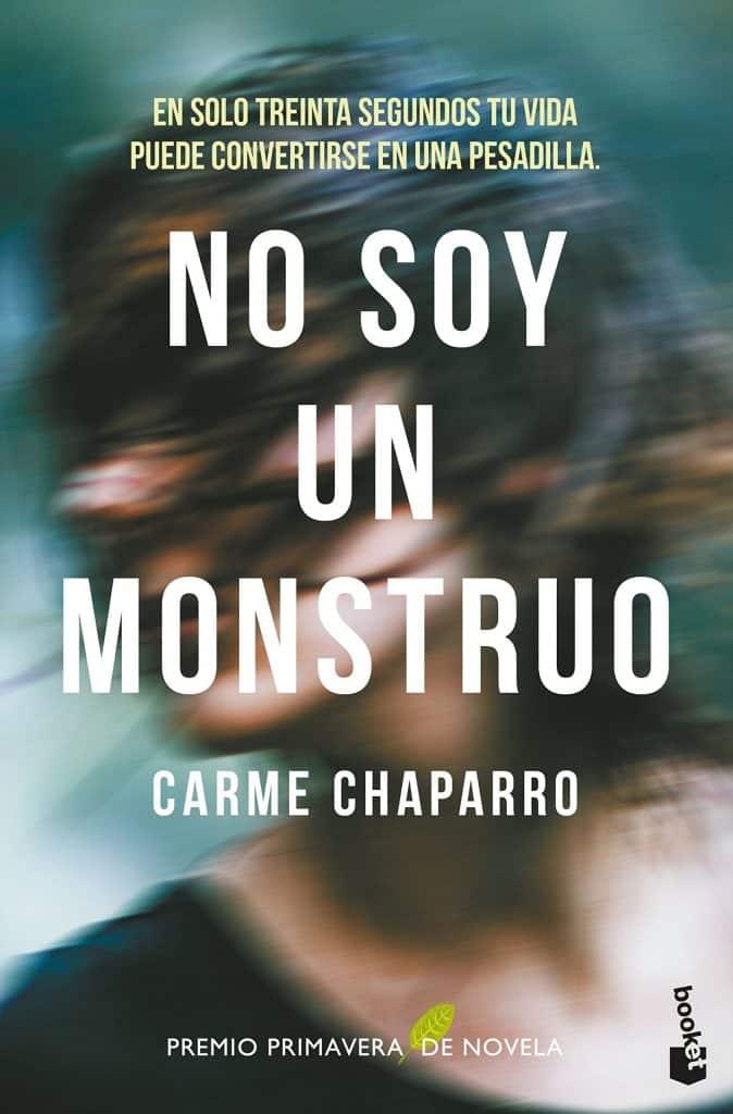 Portada del libro no soy un mosntruo del autor Carme Chaparro