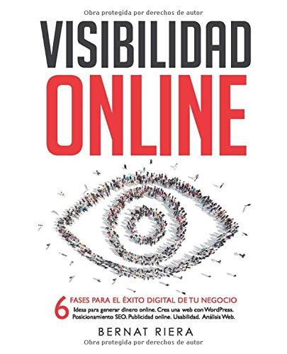 Portada del libro visibilidad online de Bernat riera