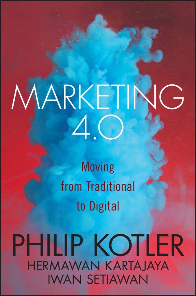 Portada del libro Marketing 4.0: Moving fron traditional to digital