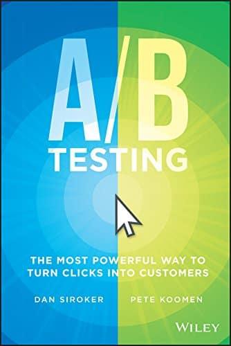 Libro de los autores Dan Siroker y Pete Koomen A/B Testing