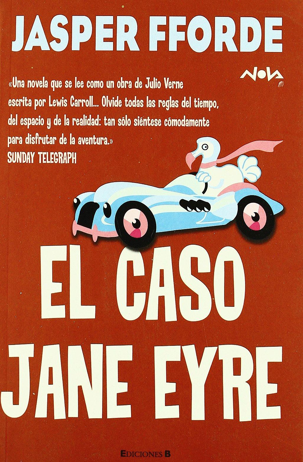 """Portada del libro """"el caso de jane eyre"""""""