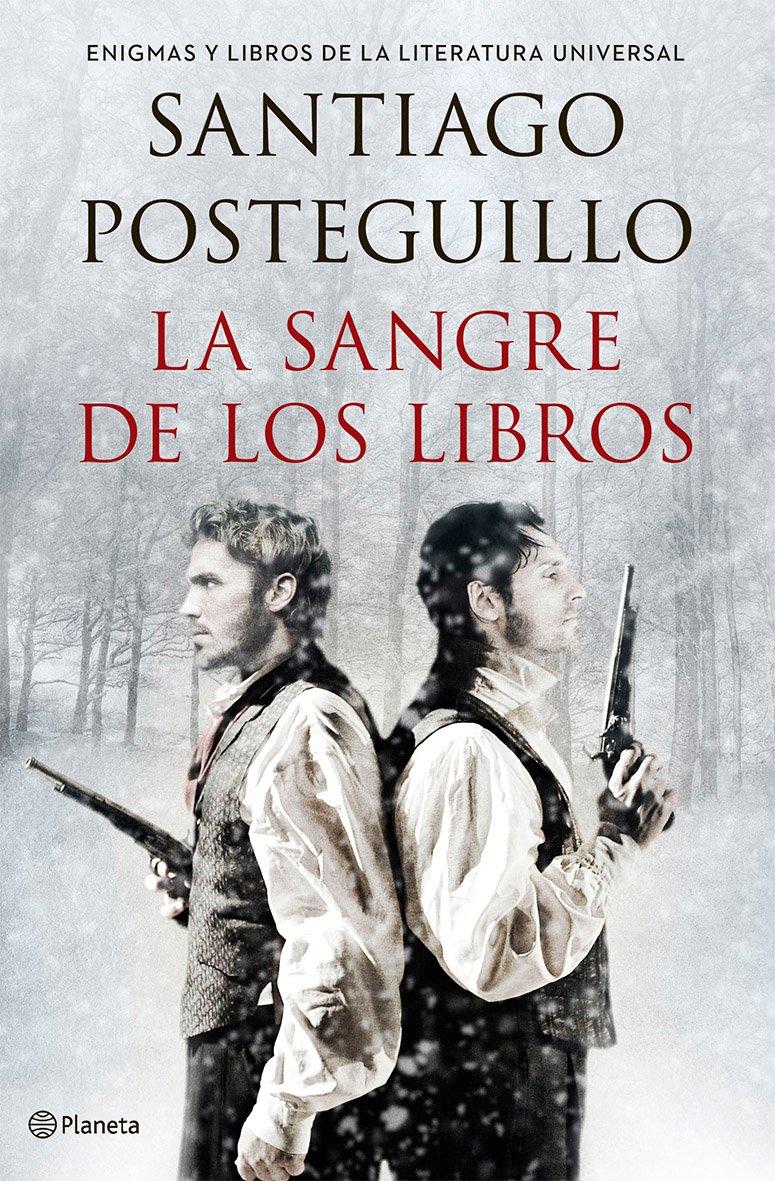 Libro del autor Santiago Posteguillo la sangre de los libros