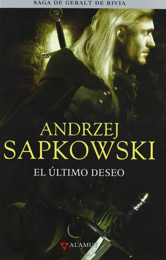 """Portada de libro """"El último deseo"""" del autor Andrzej Sapowski."""