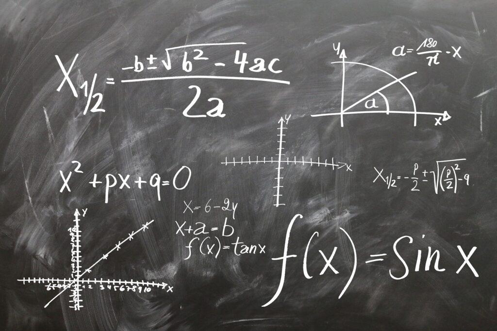 Varias formulas y ecuaciones matematicas