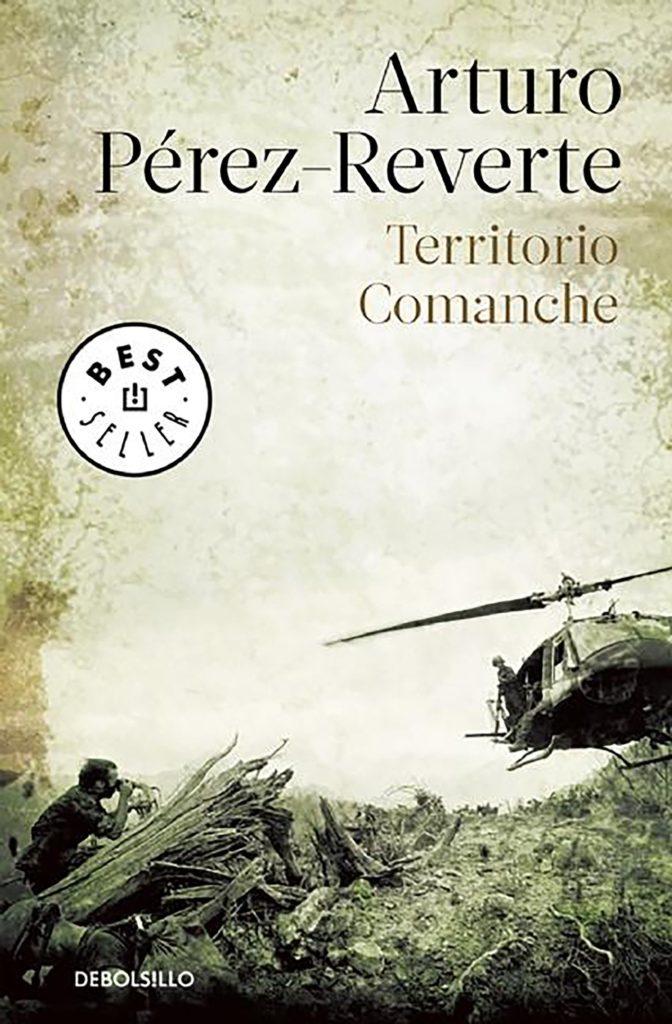 """Libro del autor Arturo Pérez-Reverte """"Territorio Comanche"""""""