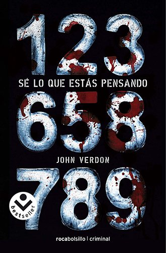 Libro del autor John Verdon Sé lo que estás pensando