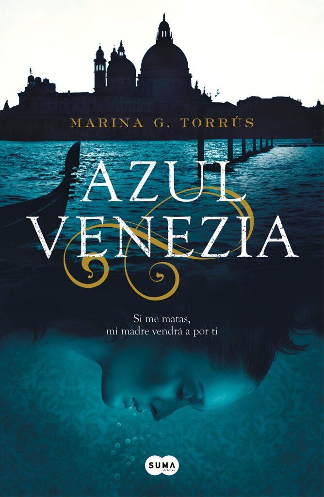 Portada del Azul Venezia de Marina G. Torrús