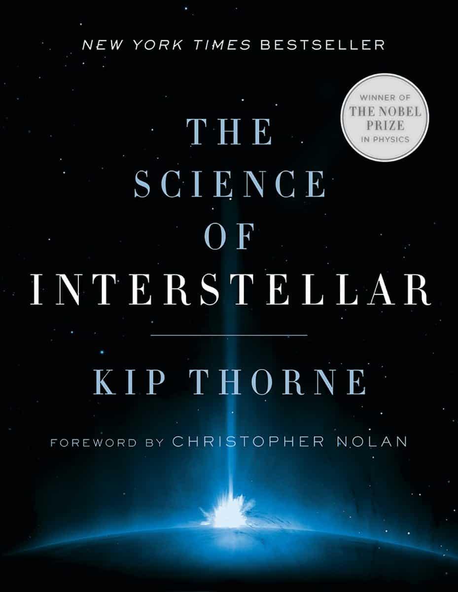 Portada del libro The Science of Interestellar, del autor Kip Thorne.