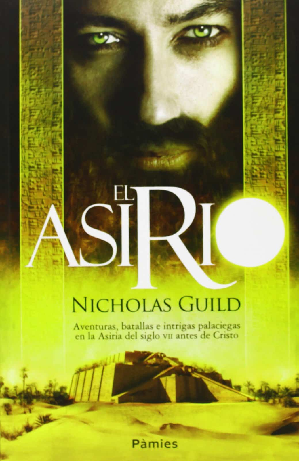 Portada del libro el Asirio de Nicholas Guild
