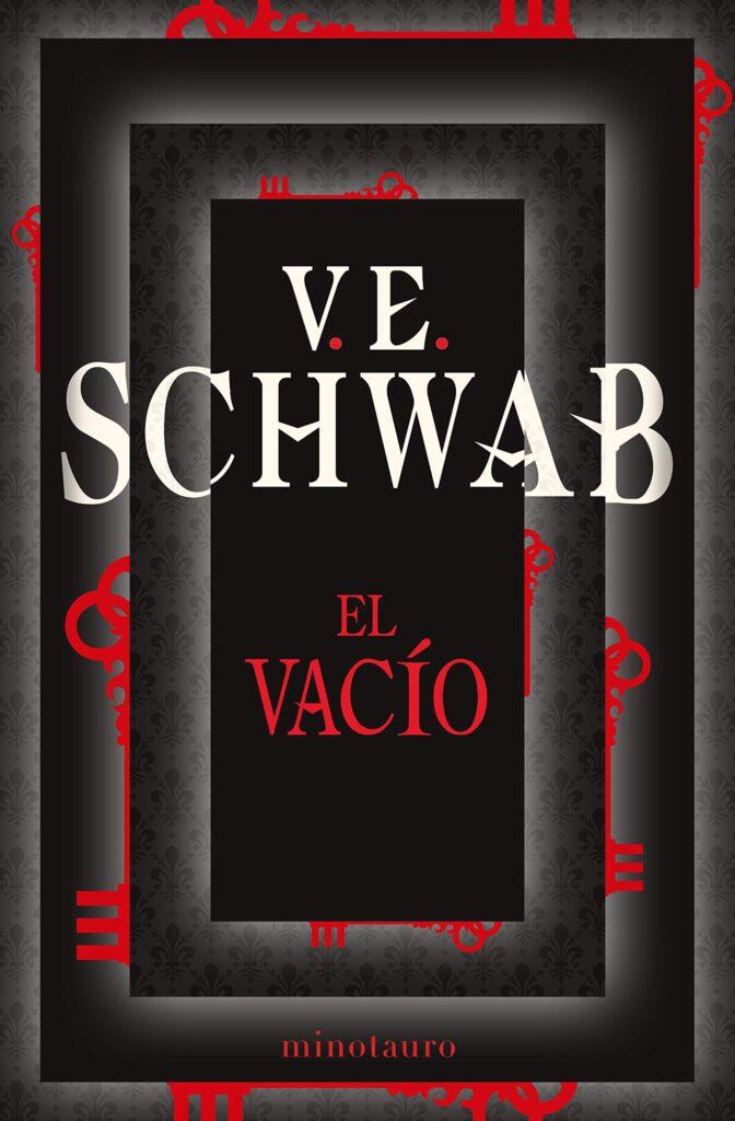 """Portada del libro """"El vacío"""" del autor V.E Schwab."""