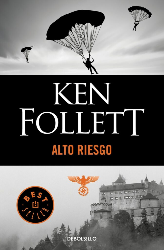 """Libro escrito por Ken Follet """"Alto Riesgo"""""""