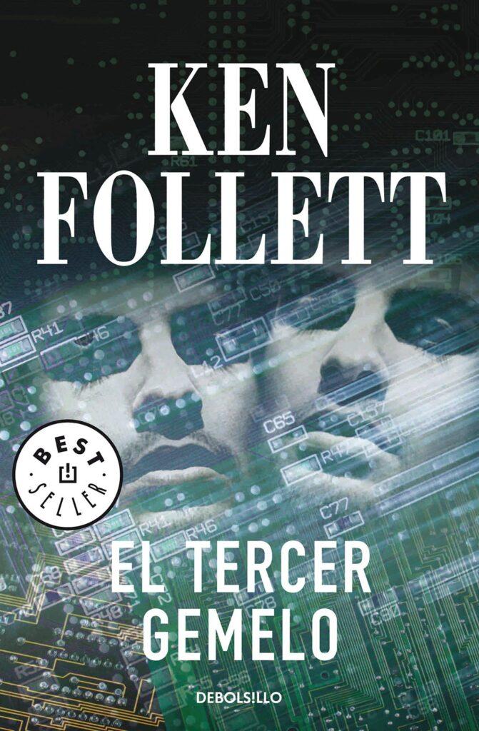 """Portada del libro """"El tercer gemelo"""" de Ken Follet."""