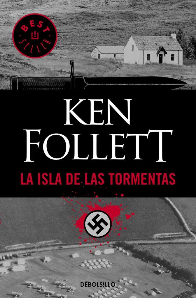 """Libro """"La isla de las tormentas"""" del autor Ken Follet."""