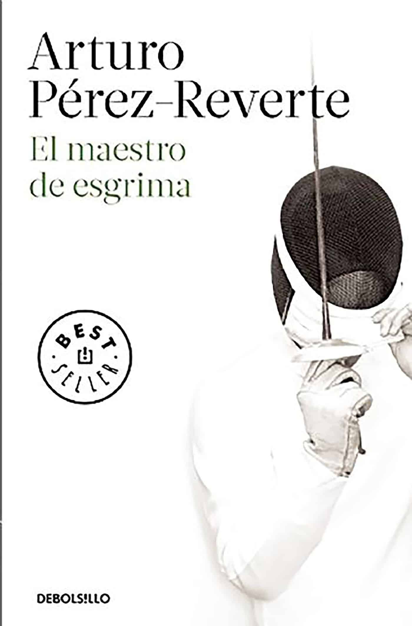 """Portada del libro """"El maestro de esgrima"""" de Arturo Pérez-Reverte"""