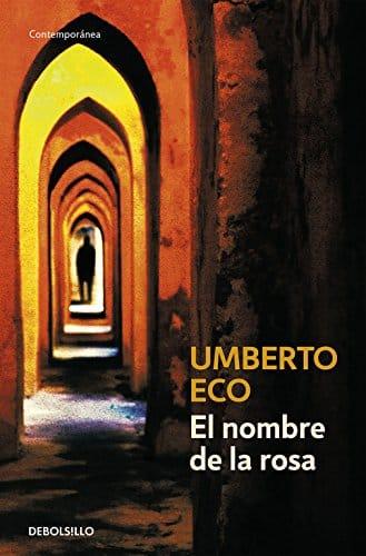 Portada del libro El nombre de la rosa de Umberto Eco
