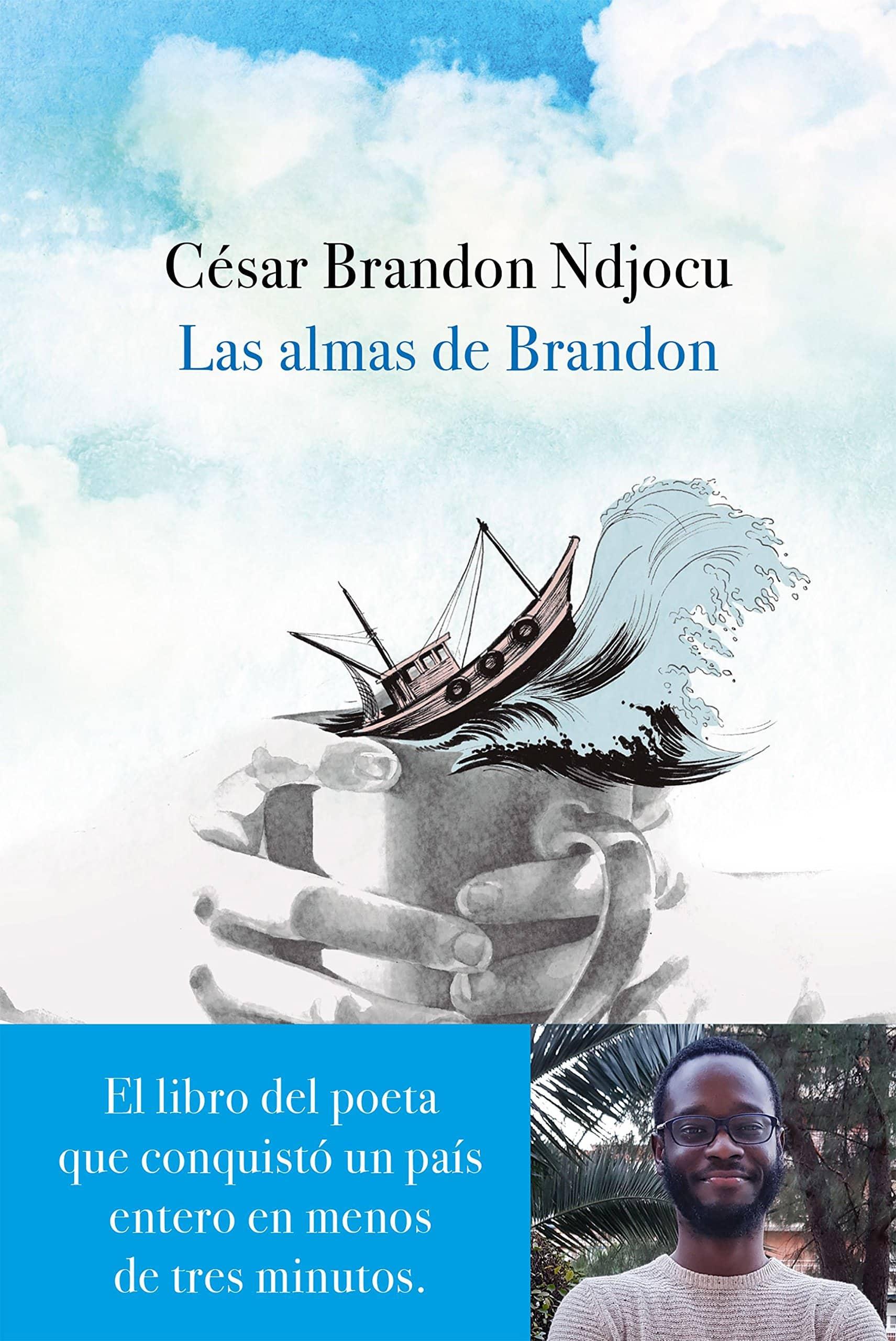 """Libro """"Las almas de Brandon"""" del autor César Brandon."""