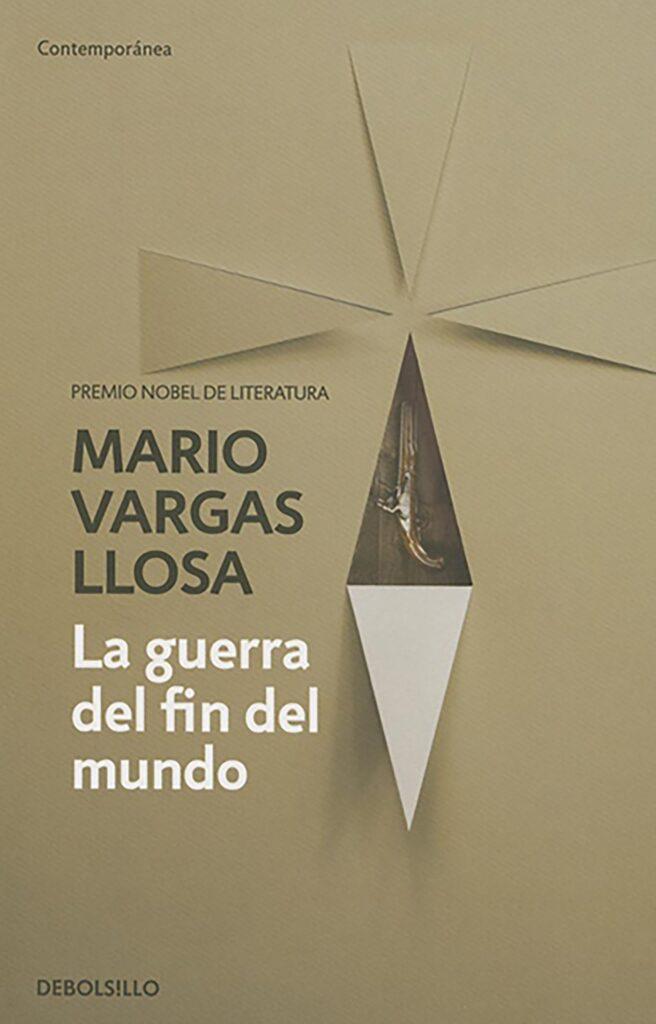 Portada del libro la guerra del fin del mundo de Mario Vargas Llosa