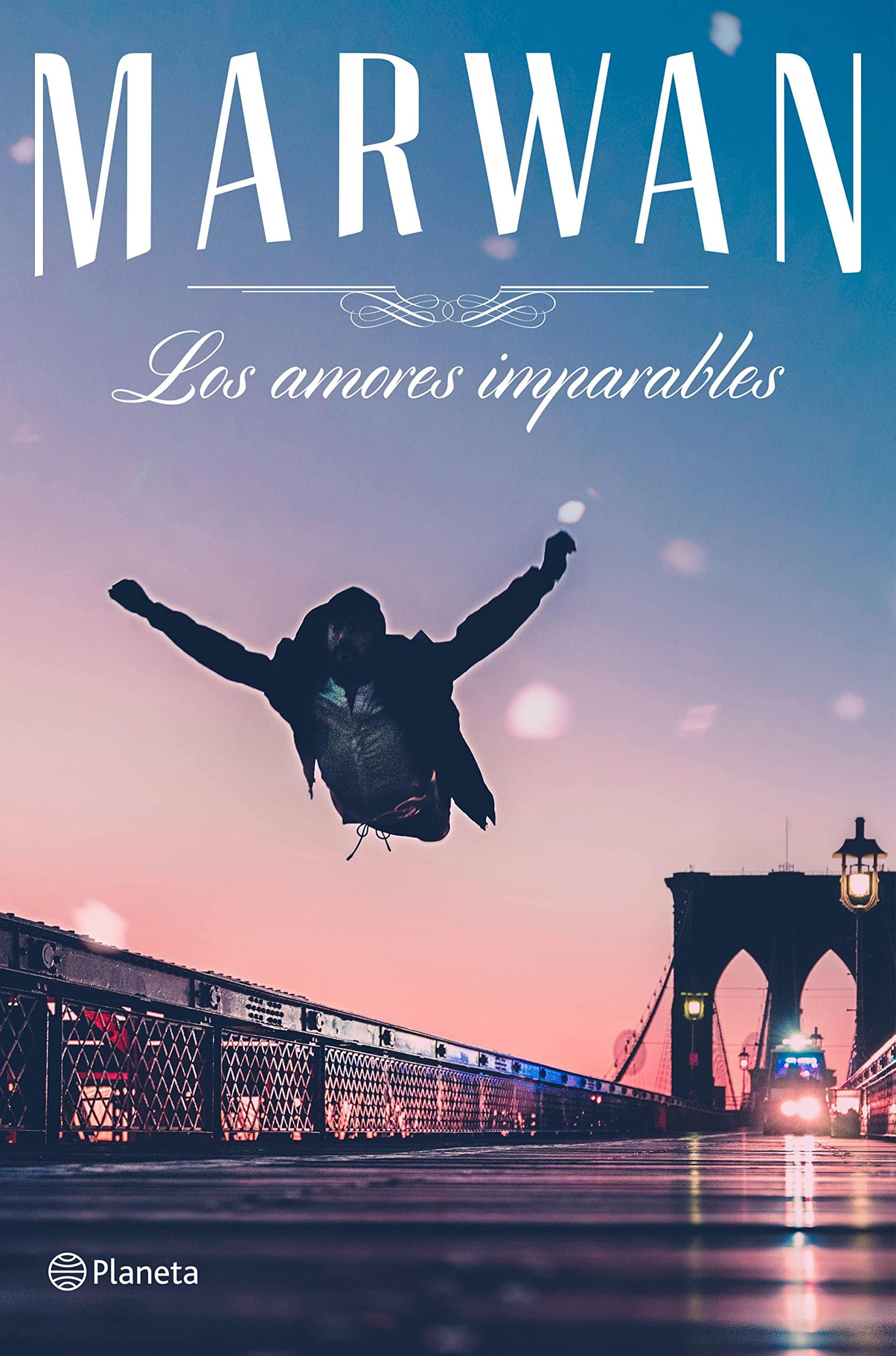 """Libro """"Los amores imparables"""" de Marwan."""