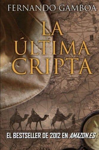 Libro de Fernando Gamboa la última cripta