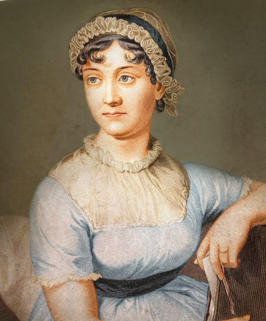 La autora británica Jane Austen.