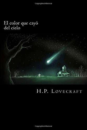 """Portada del libro """"El color que cayó del cielo""""."""