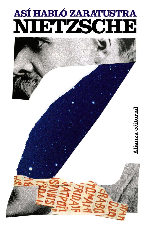 """Potada del libro """"Así habló Zaratustra"""" de Friedrich Nietzsche."""