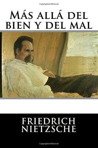 """Libro del autor alemán Friedrich Nietzsche """"Más allá del bien y del mal""""."""