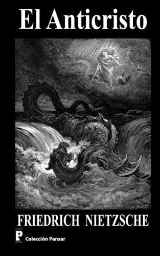 "Portada del libro ""Anticristo"" de Friedrich Nietzsche."