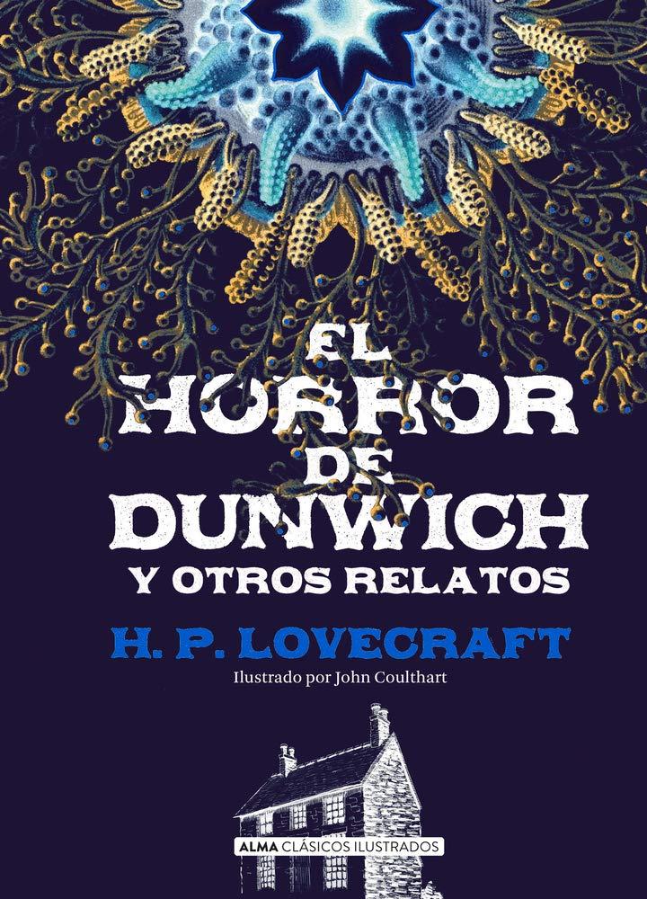 """Portada del libro """"El horror de Dunwich """"."""