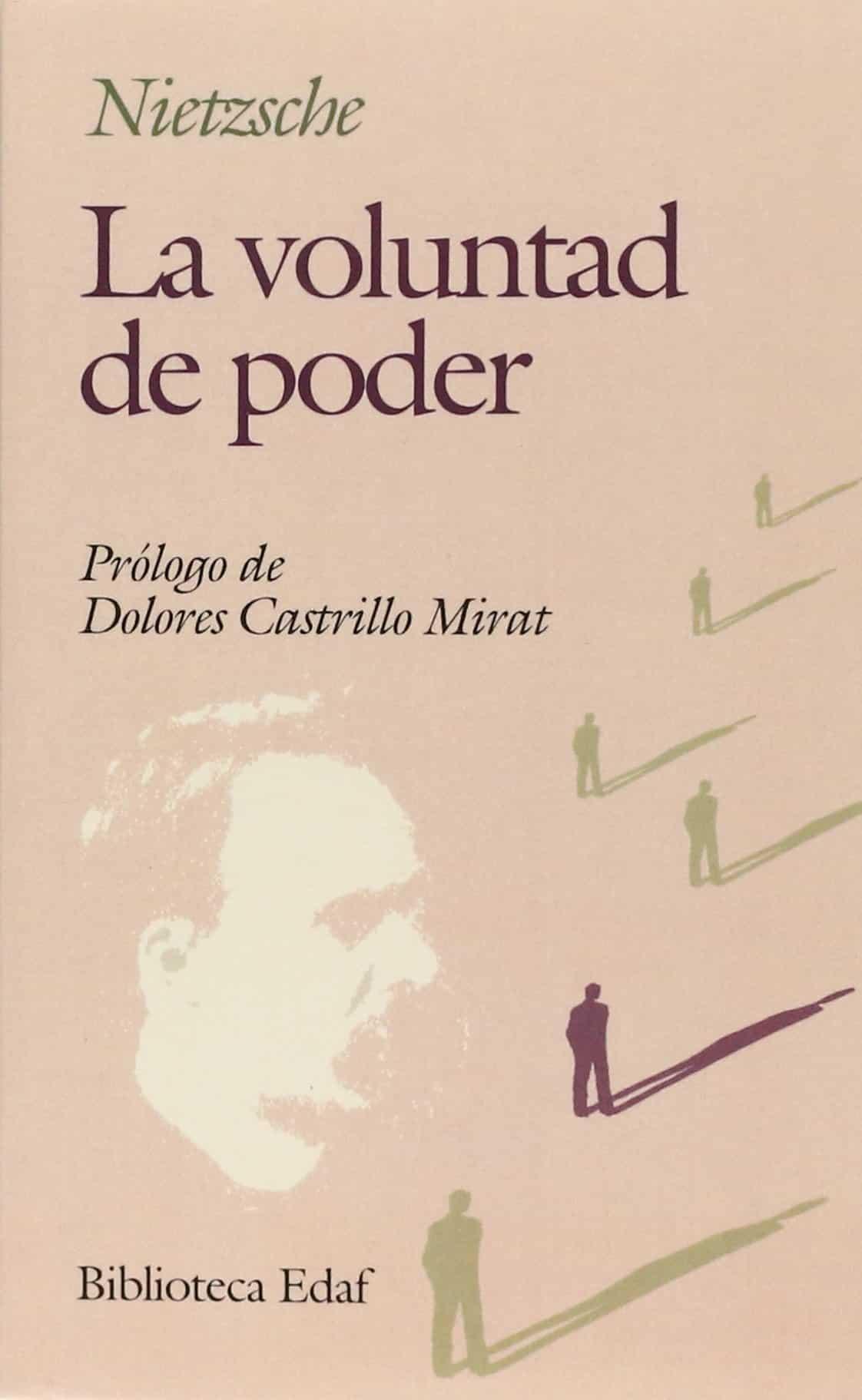 """Portada del libro """"La voluntad del poder"""" de Friedrich Nietzsche."""