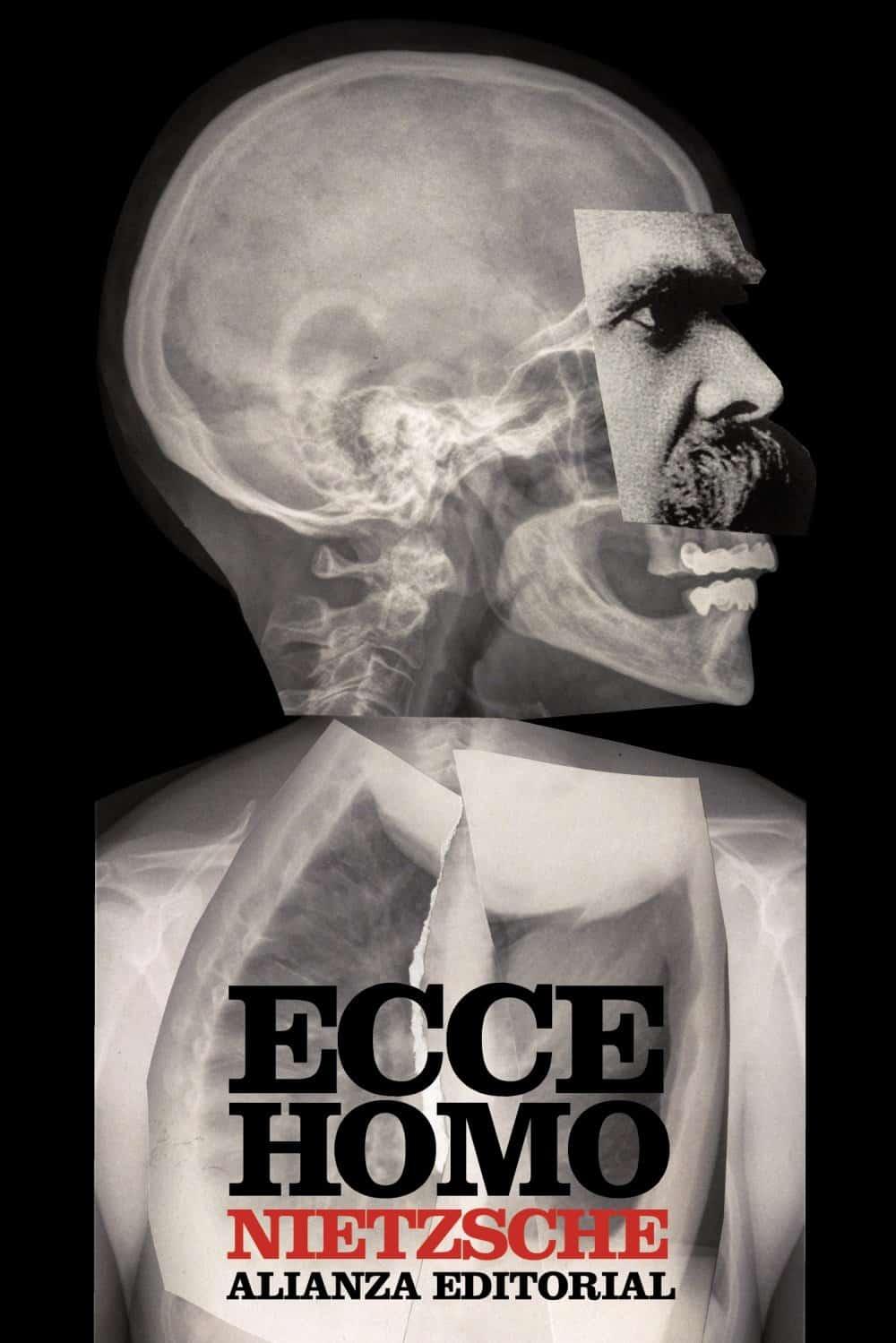 """Portada de """"Ecce homo. Cómo se llega a ser lo que se es"""" del filósofo Friedrich Nietzsche."""