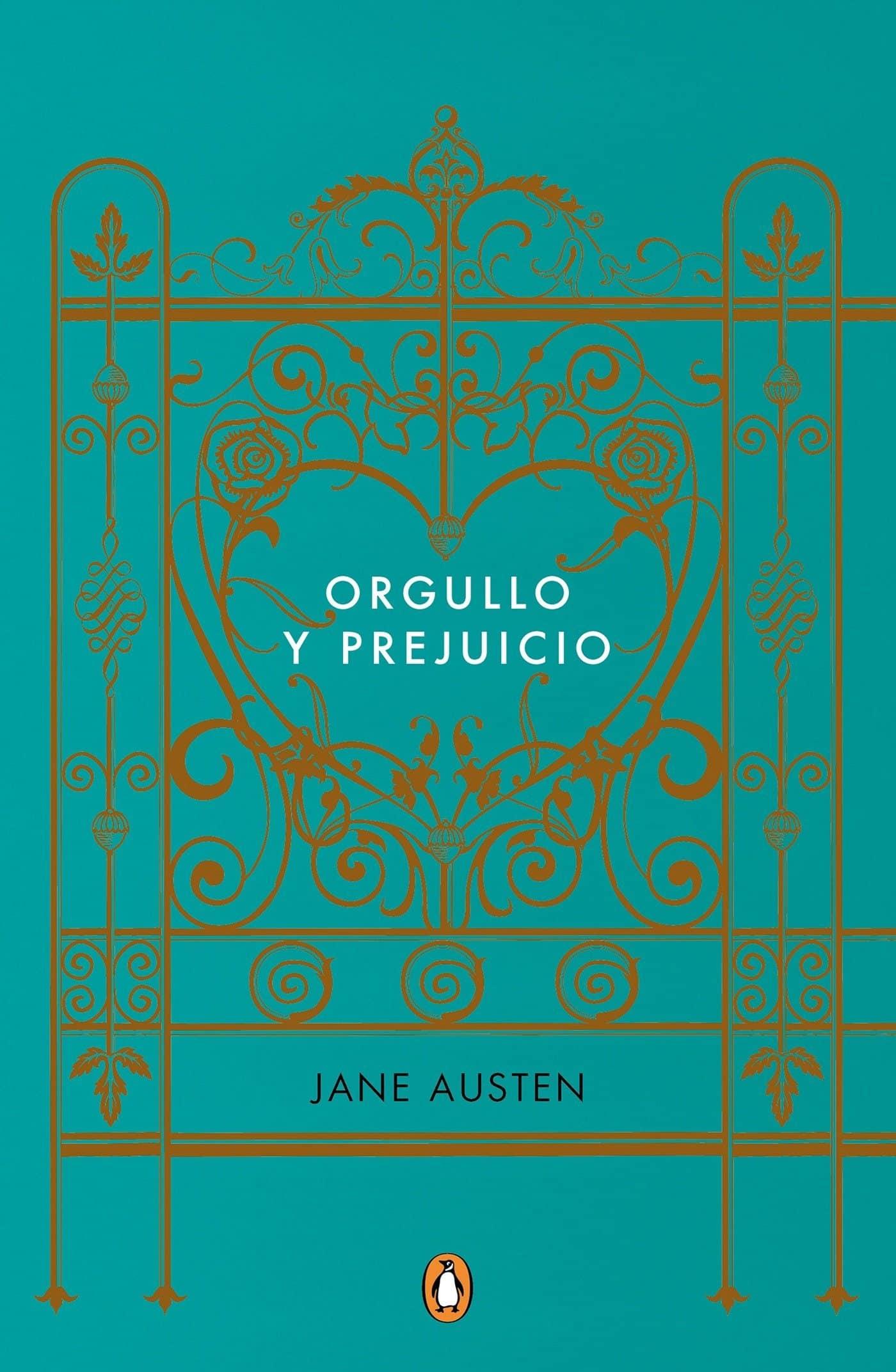 """Portada del libro """"Orgullo y prejuicio"""" de la autora Jane Austen."""