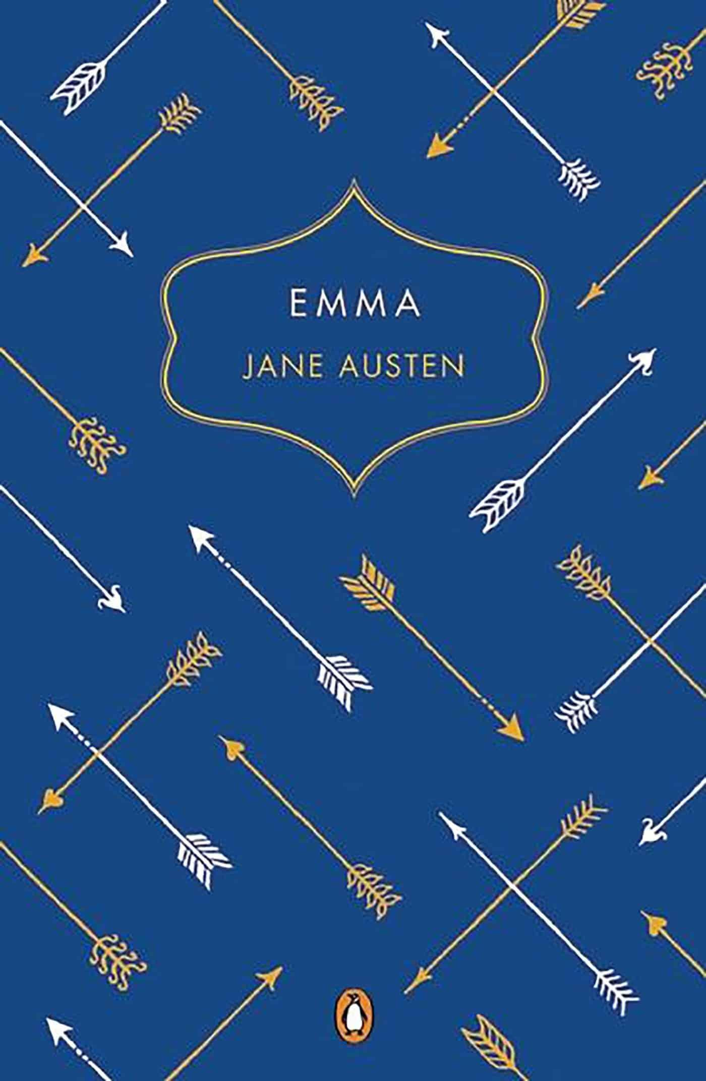 """Portada del libro """"Emma"""" de Jane Austen."""