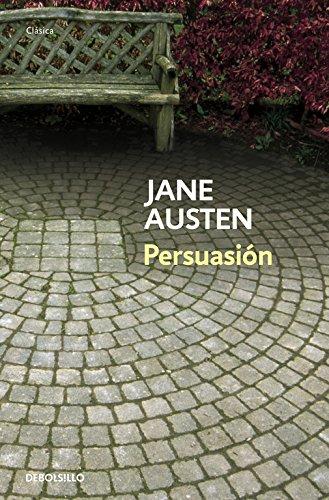 "Portada de la obra de Jane Austen ""Persuasión""."