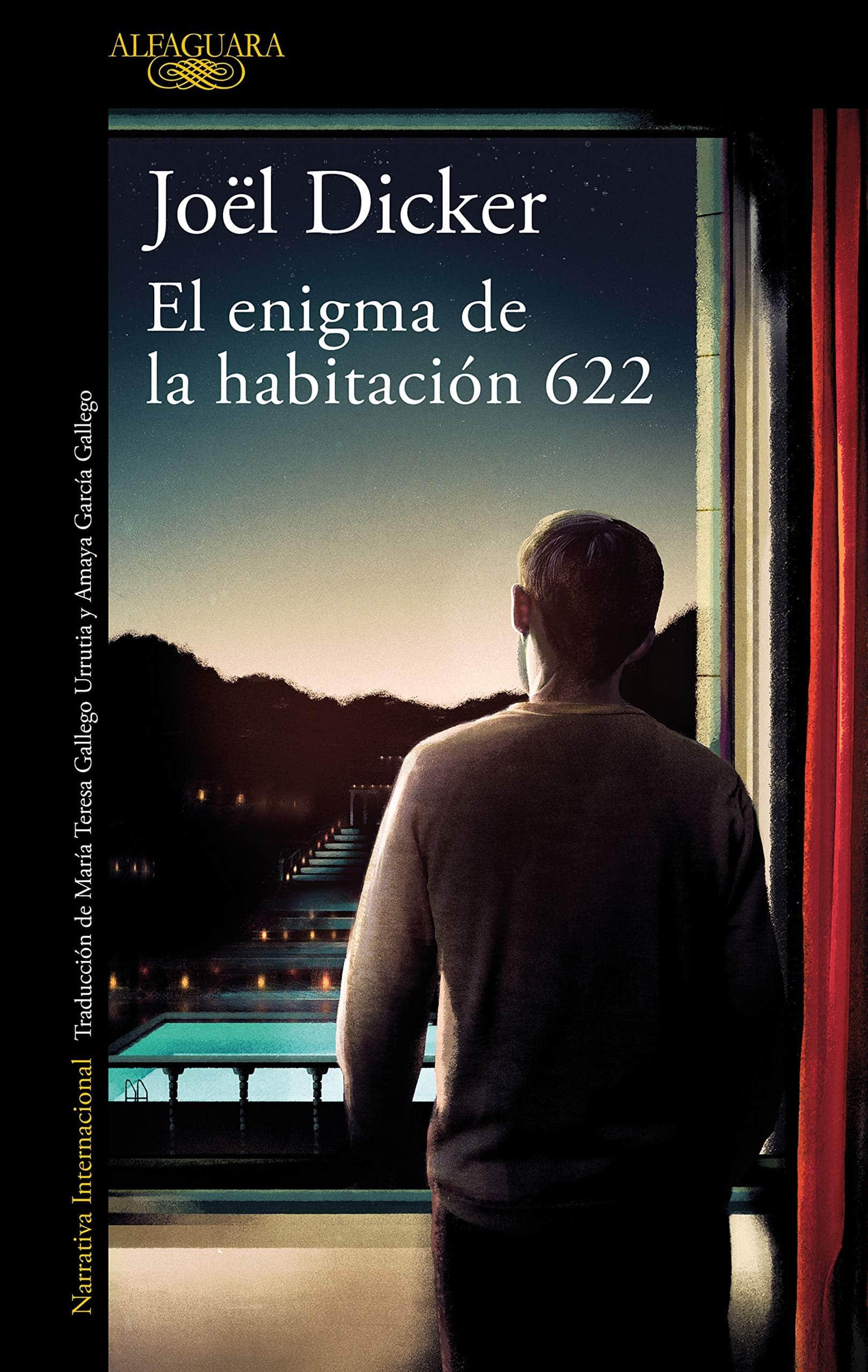 """Libro """"El enigma de la habitación 622"""" del autor Joël Dicker."""