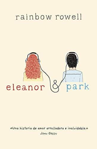 """Libro """"Eleanor y Park"""" de la autora Rainbow Rowell."""